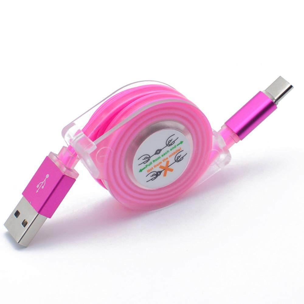 Planiesty 1 M LED USB Tipe-C Charger Tanggal Kabel Pengisi Kabel untuk Samsung Galaxy Note 8-Intl