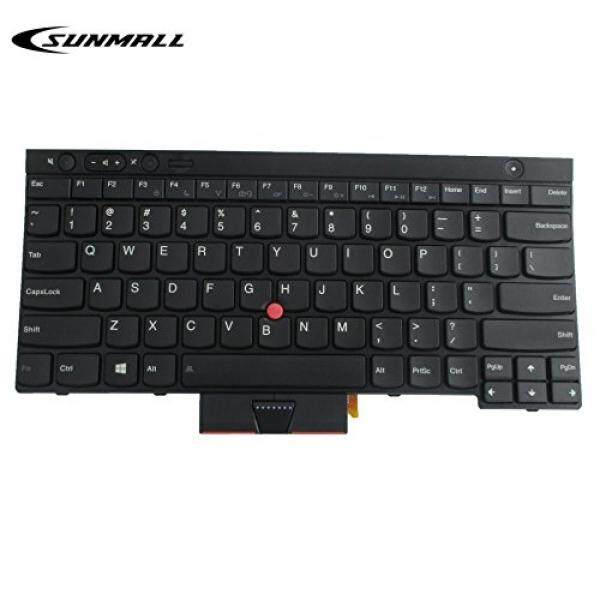 Computer Accessories SUNMALL SUNMALL New Laptop Keyboard replacement with Backlight Backlit Pointer for Lenovo IBM ThinkPad X230 X230I X230T X230I T430 T430S T430I L430 T530 T530I W530 L530 US Layout Black (6 Months Warranty) - intl