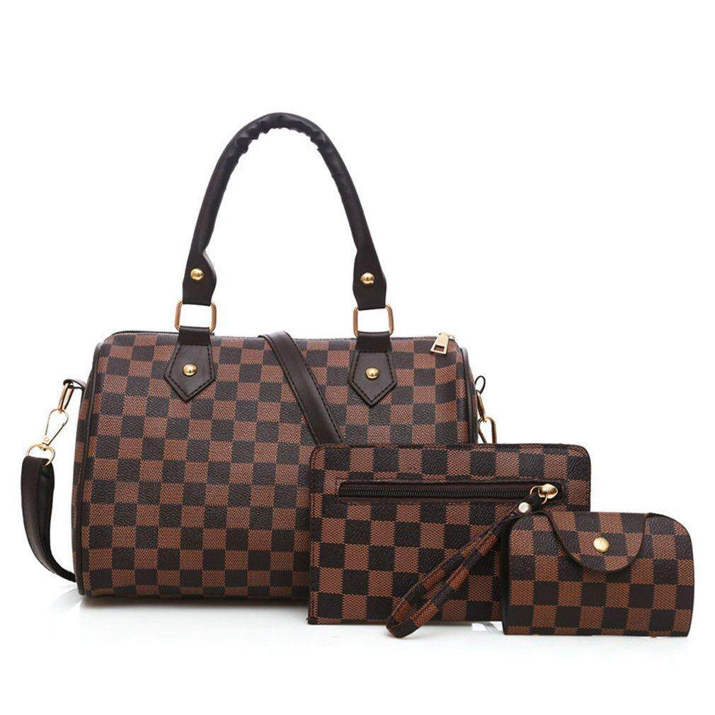 6c2c19801c Befu 3 pieces set Vintage Elegant Woman Bag Fashion Pillow Bag Handbag  Shoulder Bag