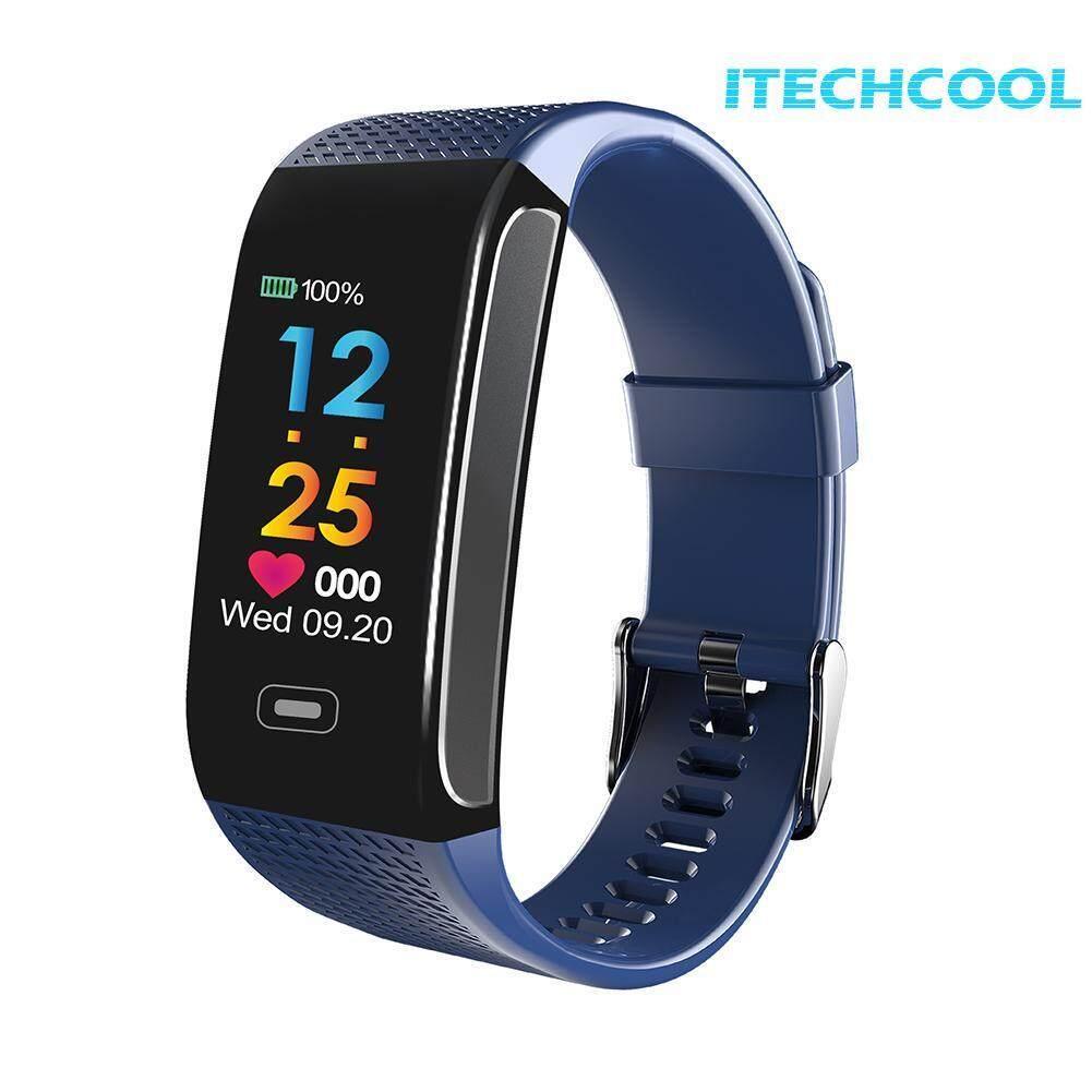 CK18S 0.96in IPS Screen Blood Pressure Heart Rate Monitor Smart Bracelet