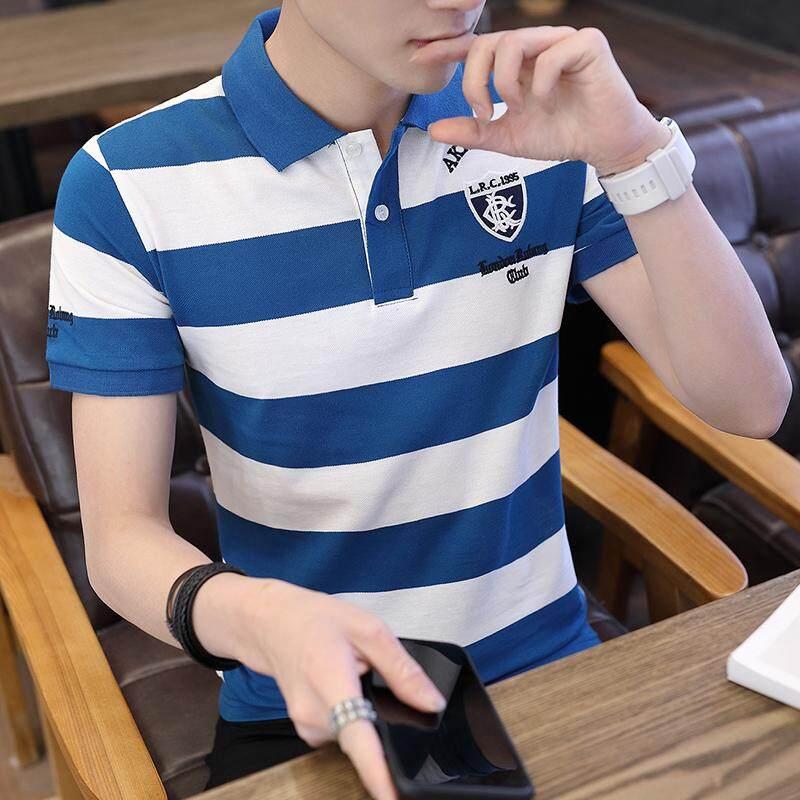 470226c8314b 2018 Summer Men s Short-sleeved T-shirt Men s Wear V-neck Early Spring