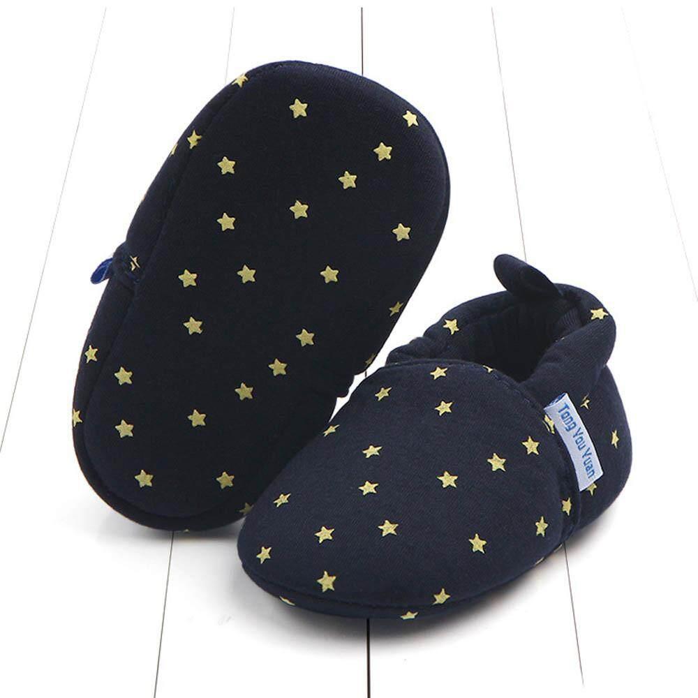 Cocol Max Bayi Bayi Baru Lahir Star Sepatu Kets Cetak Anti-Slip Sol Lembut Sepatu Balita By Cocolmax.