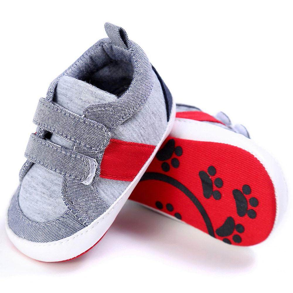 Baby Shoes Boy Girl Newborn Crib Soft Sole Shoe Sneakers GY/1