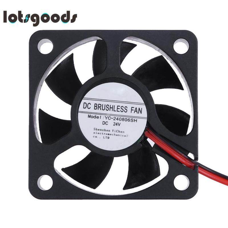 Bảng giá Lotsgoods Ultra Quiet DC 24V Brushless Cooler Fan 49x49mm 7 Blades Computer Cooling Fan Radiator Cooler Phong Vũ