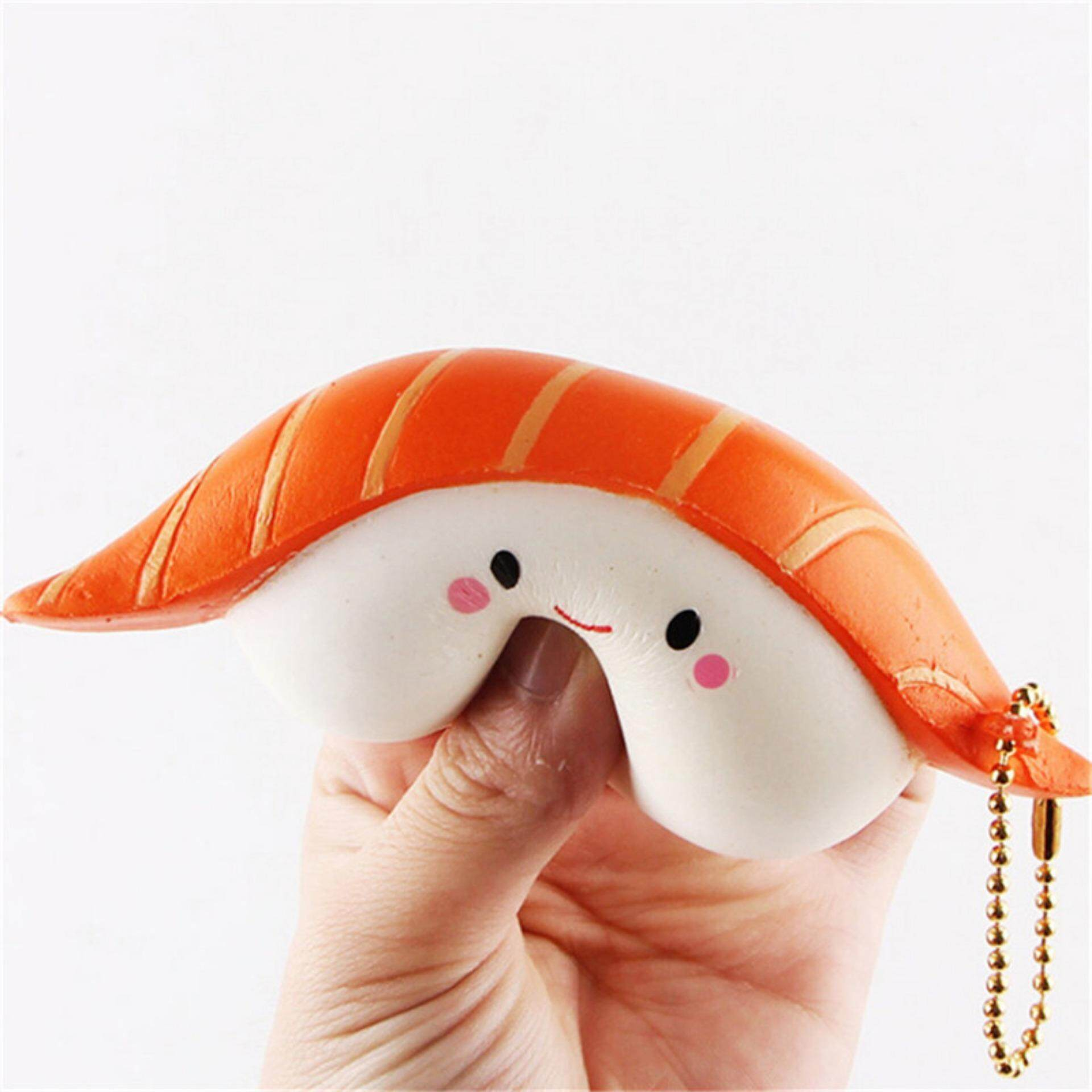 Cute Sushi Scented Squeeze Slow Rising Fun Toy Relieve Stress Cure Gift - intl