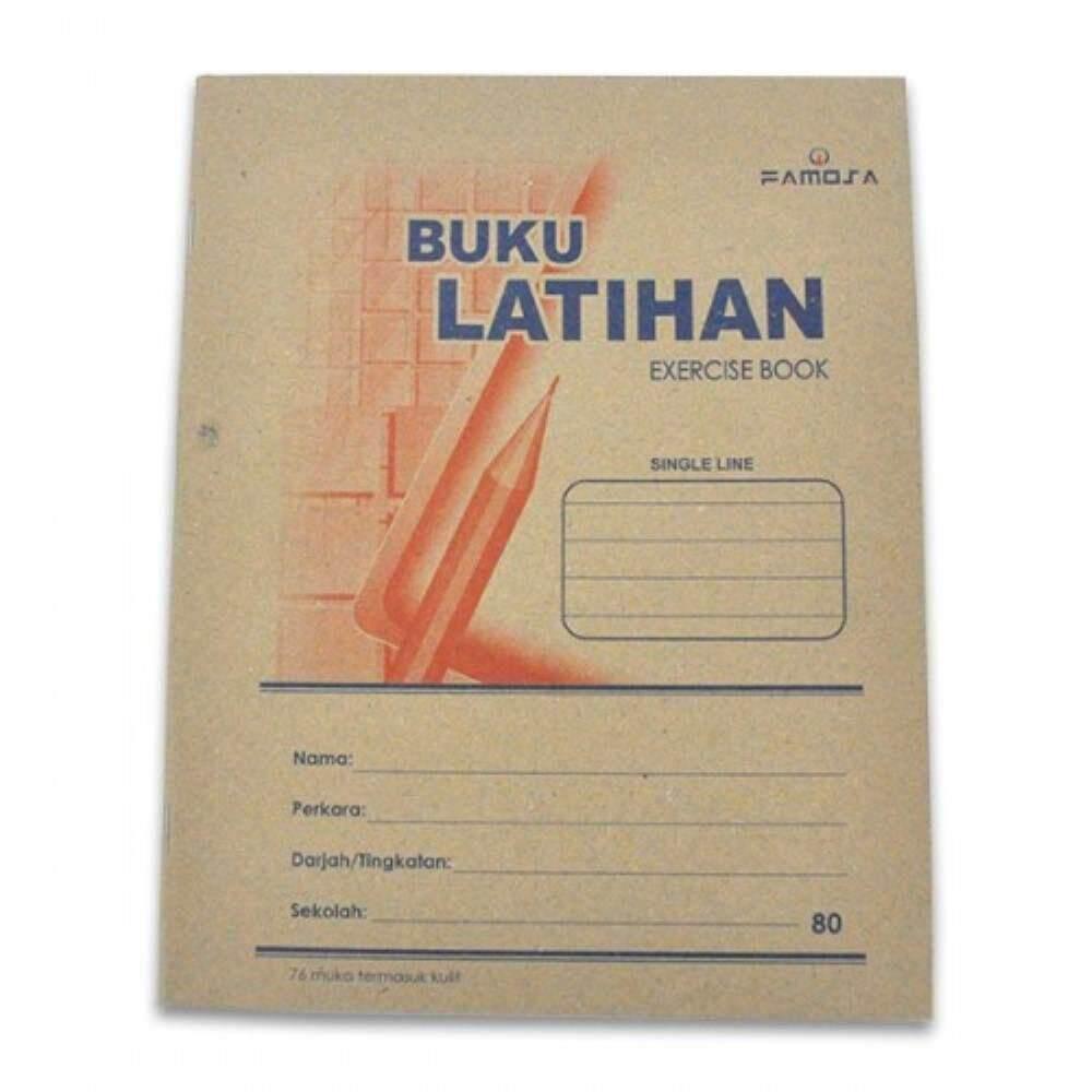 Exercise Book - Buku Latihan Single Line 80 pages (Item No: C02-43SL76) A1R4B141