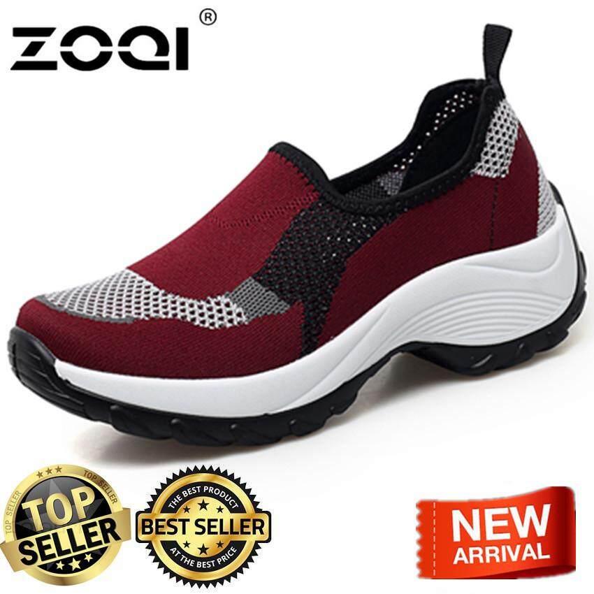 ZOQI Loafers for women shake shoe Fashion sport shoes running shoes