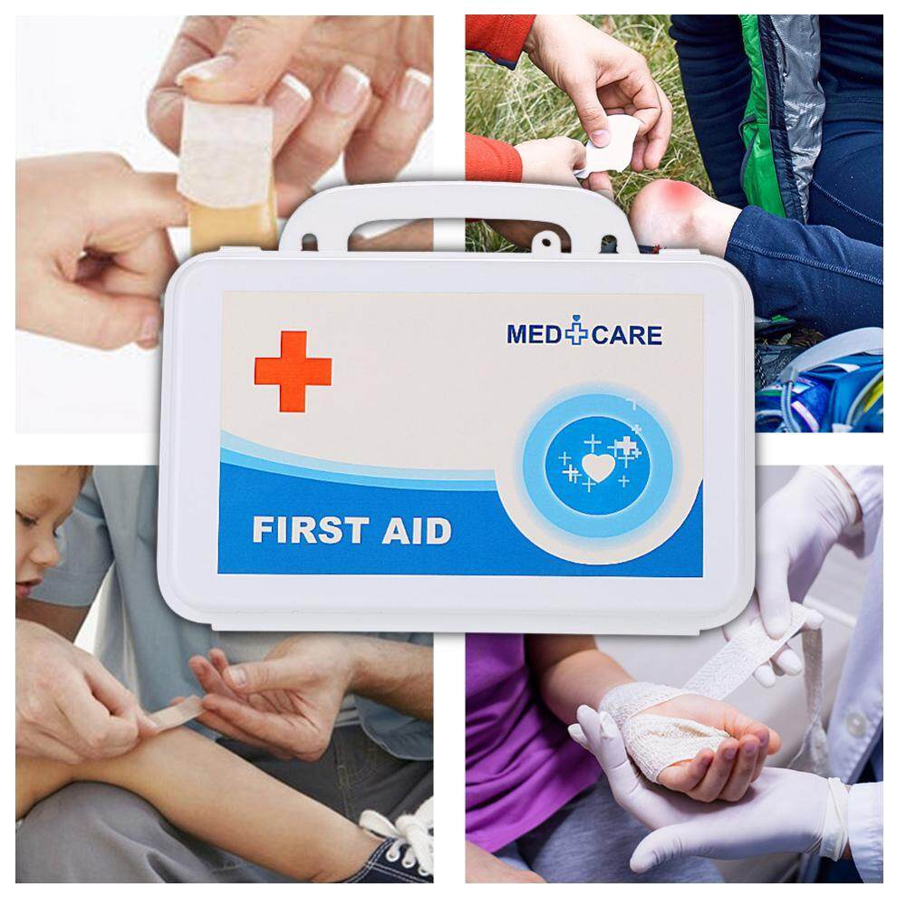 First Aid Kit Emergency Medical Rescue Bag Treatment Case Set For Home and Travel - intl