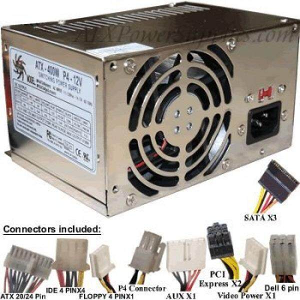 This is a Genuine Athena AP-MPS3ATX40 not a substitute - 400 Watt Upgrade for HIPRO Power Supply Model HP-D3537F3R LF, H - intl