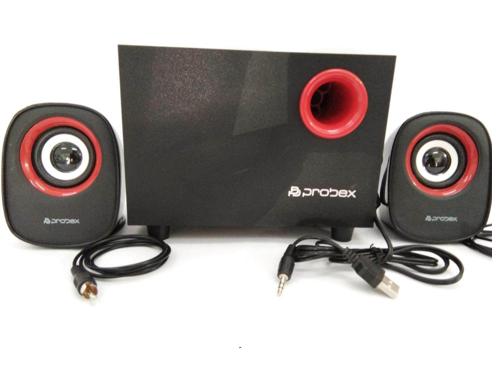 Probex USB 2.1CHANNEL WOOFER SPEAKER - S9 Malaysia