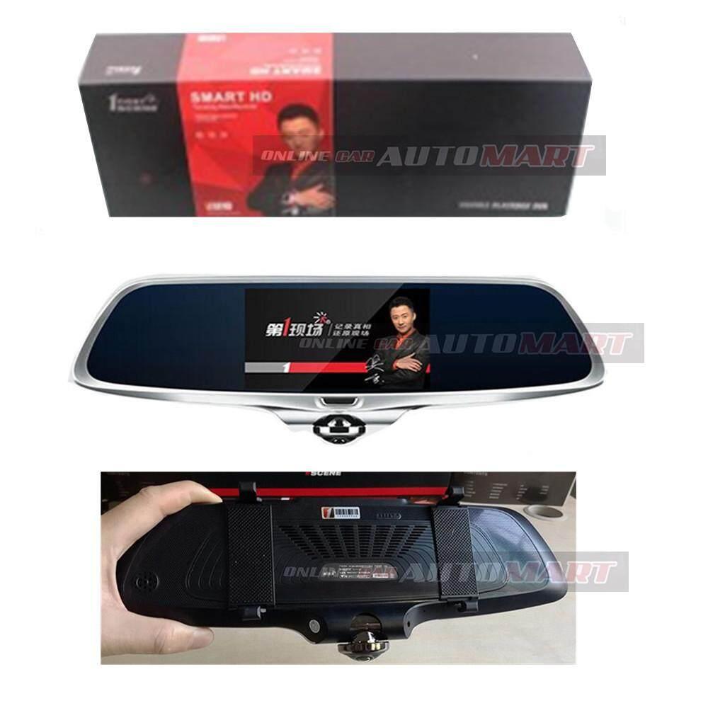 1 First Scene Legend Touch Screen HD 1080P Dual Camera Fisheye Car Dash Cam Recorder G-Sensor