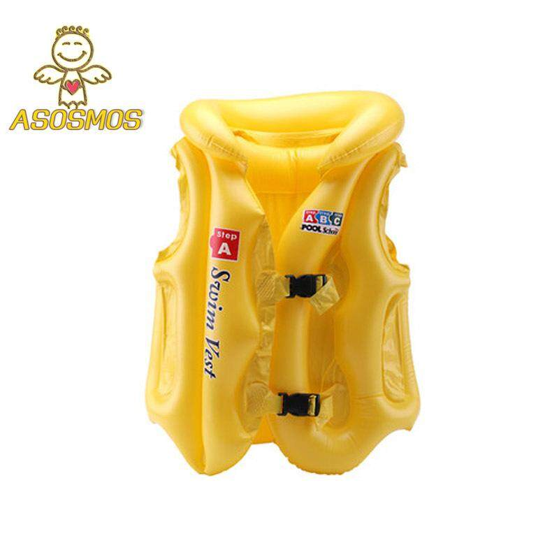 Asm Adjustable Children Kids Babies Inflatable Pool Float Life Vest Swiwmsuit Child Swimming Drifting Safety Vests By Asosmos.
