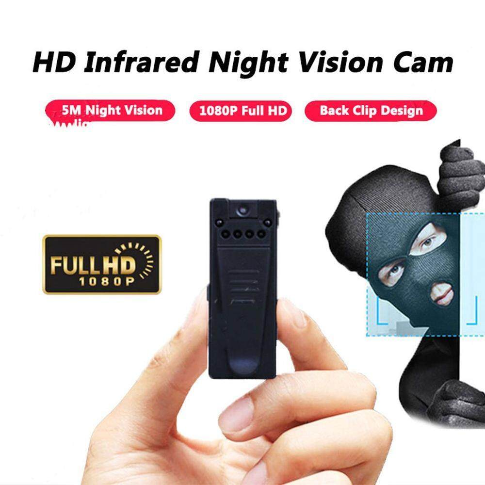 M_home 90 Degree Rotated Camera Infrared Night Vision Webcam 1080P Mini Camera HD Camcorder with Motion Sensor Video Audio Recorder Micro Secret Cam