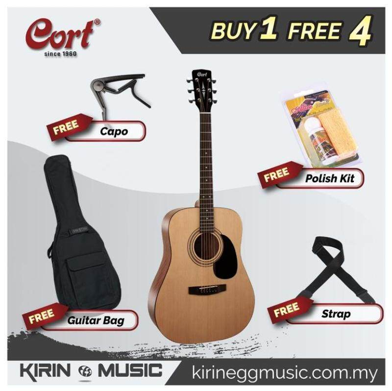 Cort AD810 Acoustic Guitar (Dreadnought) Malaysia