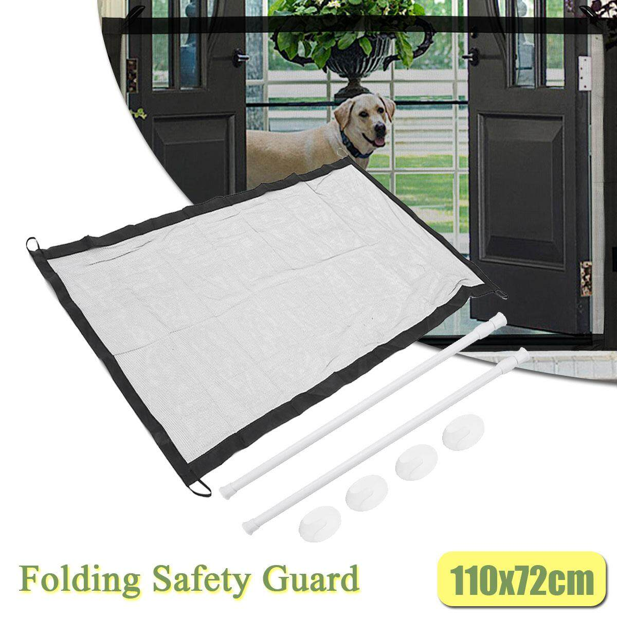 Baby Gate Fence Folding Safety Guard Mesh Net Child Pets Dog Cat Gauze Barrier By Audew.