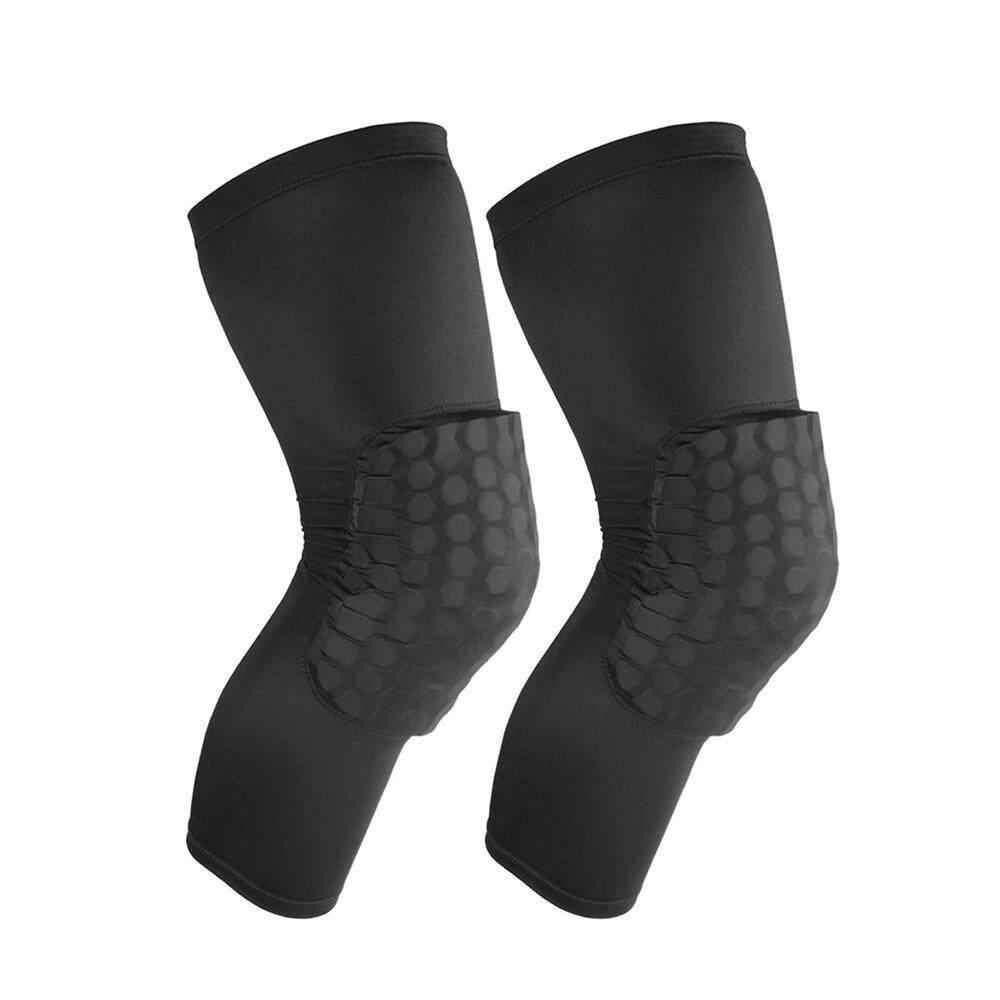 Leegoal Bantalan Pelindung Lutut, Anti-Slip Basket Siku Bantalan Lutut Penjaga Kompresi Leg Lengan (43*35 Cm)-Intl By Leegoal.