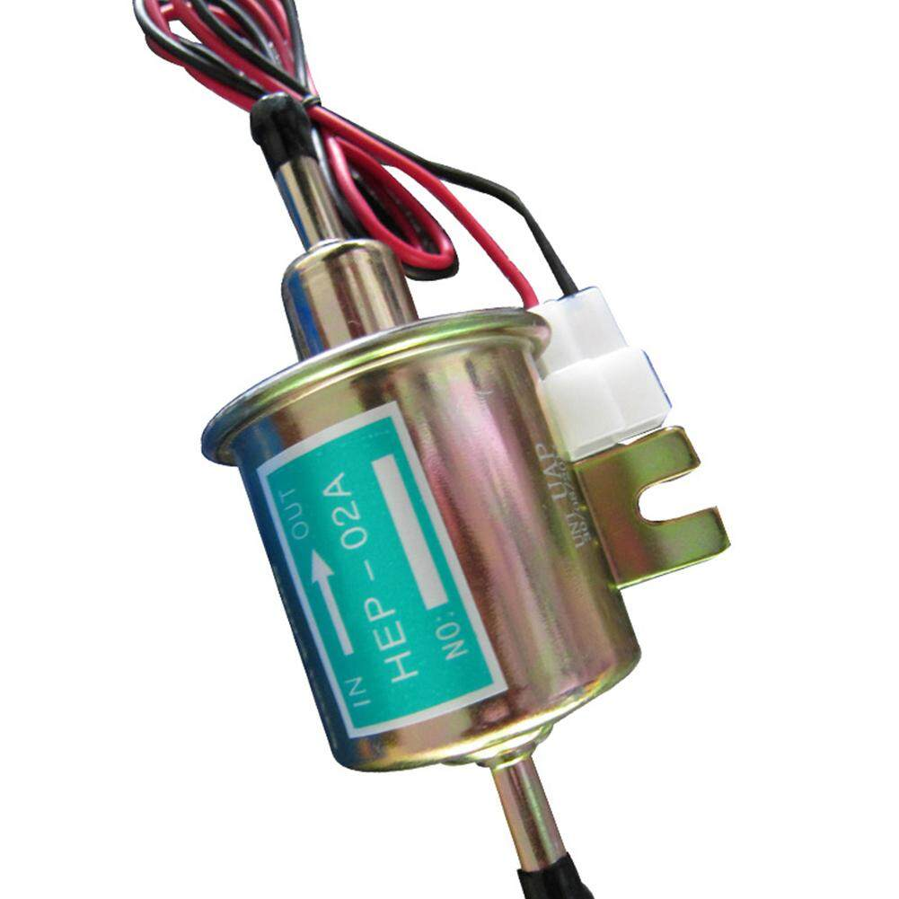 Mo Hot HEP-02A Low Pressure Universal 12V Electric Fuel Pump Inline Petrol  Gas Diesel Models:12V HEP-02A