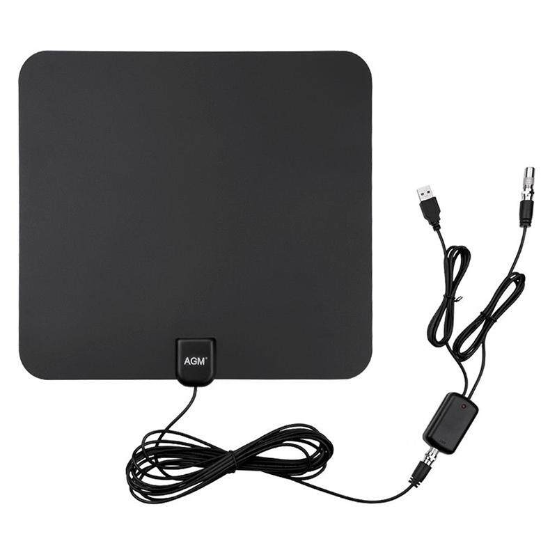 SA YANYI 80 Mile HDTV Indoor Antenna Aerial HD Digital TV Signal Amplified Booster & Cable