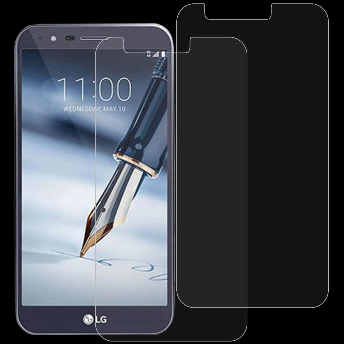 2 PCS 0.26mm 9H 2.5D Tempered Glass Film for LG Stylo 3 Plus