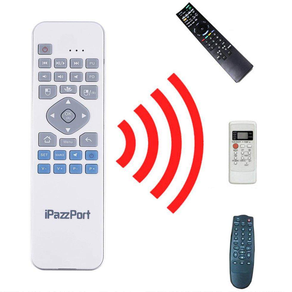 GOFT KP-810-30 2 in 1 2.4GHz Wireless Remote Keyboard Mouse for TV HTPC Teaching white