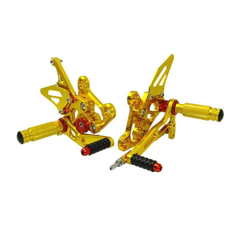 waase GSXS750 15-17 Motorcycle Adjustable Rcing Rider RearSets Shift Rear set Foot Rest Pegs For Suzuki GSX-S 750 2015 2016 2017 Gold