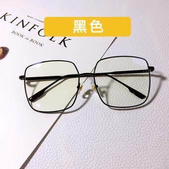 Review of 周扬青 Model Sama bingkai kacamata bentuk persegi bingkai besar  Logam makeup Retro kaca polos Gaya Korea modis wajah bulat Terlihat  Langsing ... d3b9c2d264