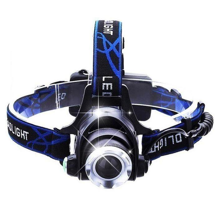 Hình ảnh Hot Sale T6 LED High Power Bicycle Light Adjustable Headlight Headlamp with Flashlight - intl