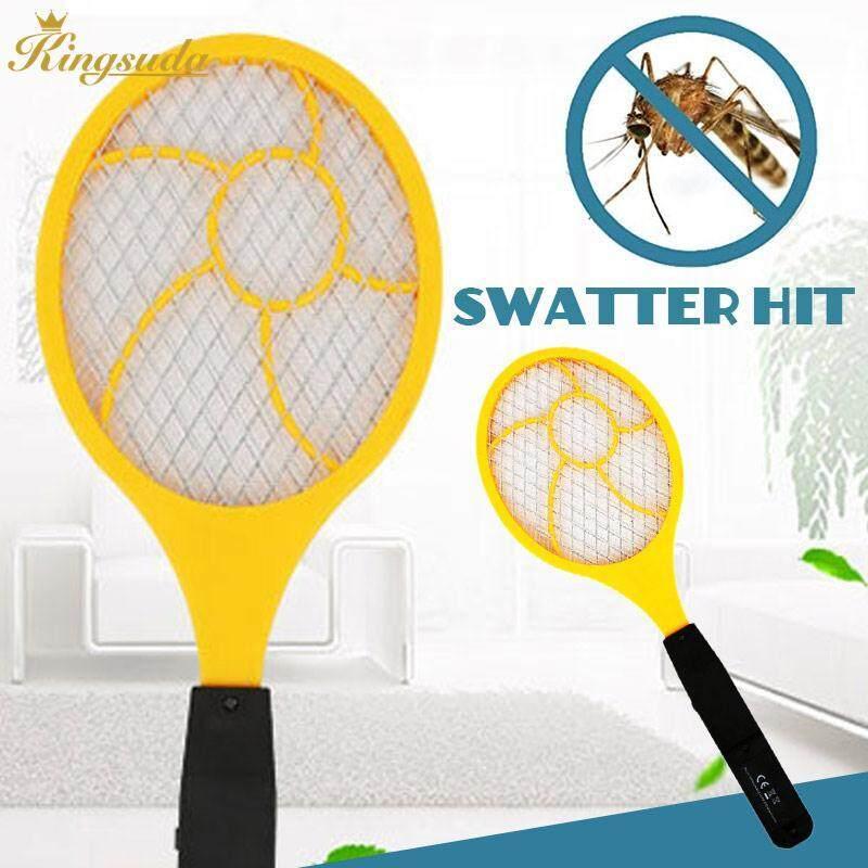 Detail Gambar Kingsuda Electric Mosquito Swatter Electric Tennis Racket Practical Handheld - intl Terbaru