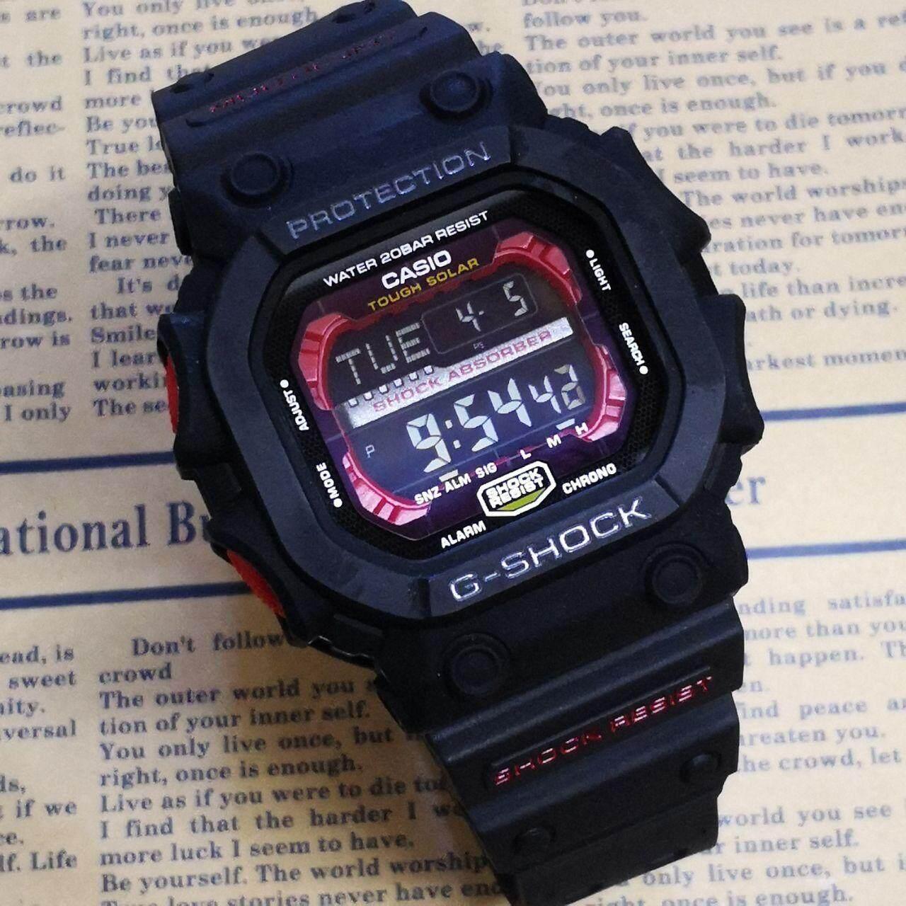 Features Casio G Shock Mens Gst 210b 4a Mineral Glass Watch Black 200cp 9a Gx 56