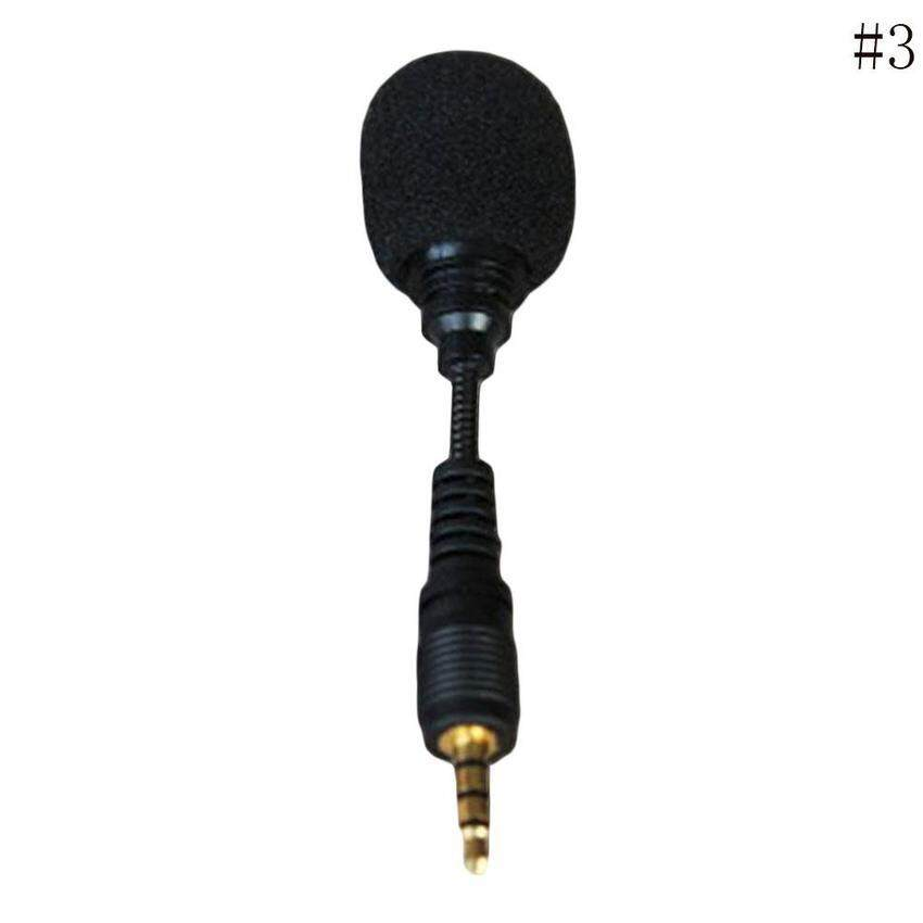 Mini Stereo Microphone 3.5mm Mic for Laptop Notebook Mobile Cell Phone