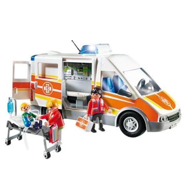 Wlpon Ambulans dengan Lampu dan Suara-Internasional