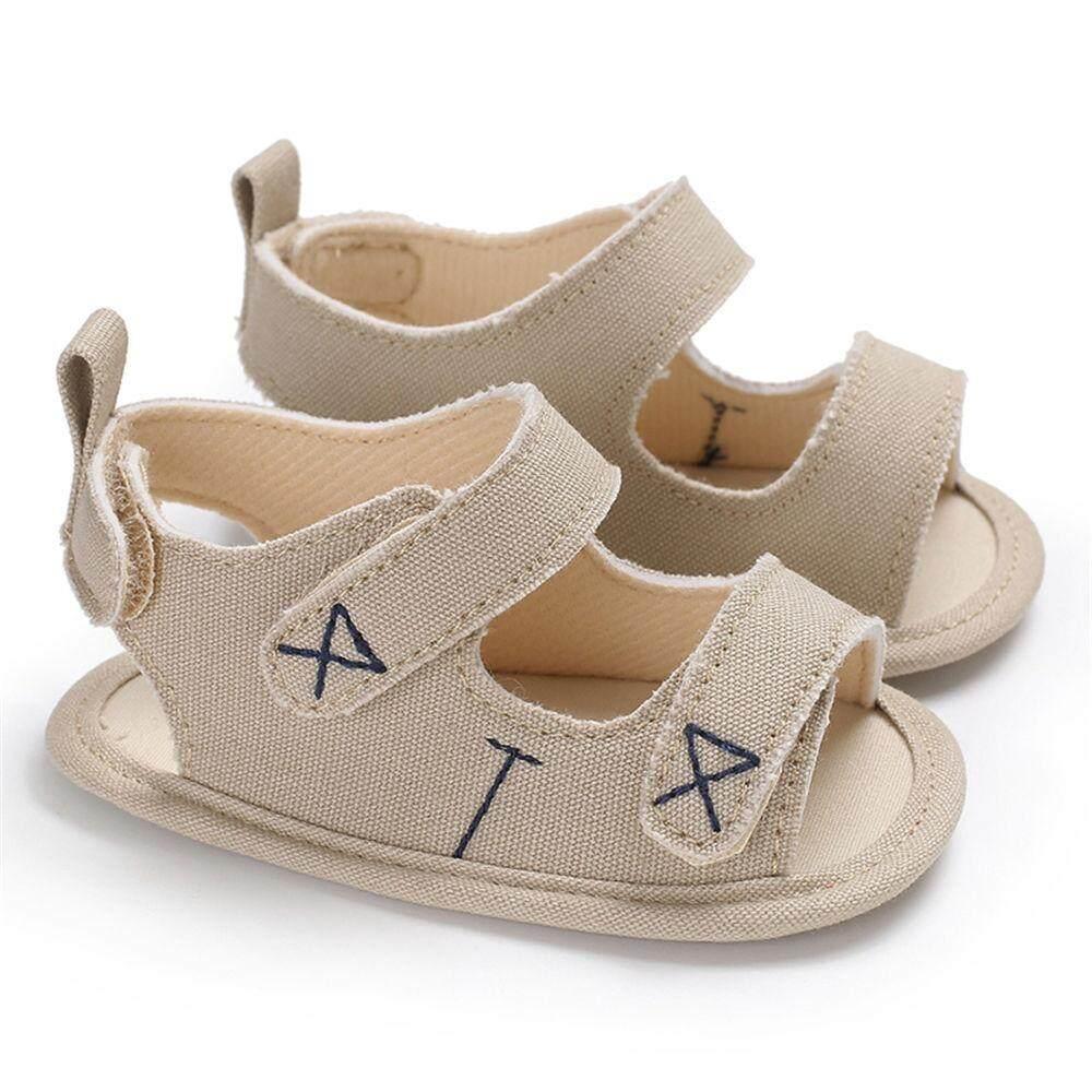 Summer Newborn Baby Boy Girl Canvas Sandals Stripe Kid Toddler Shoes By Fancytoy Market.