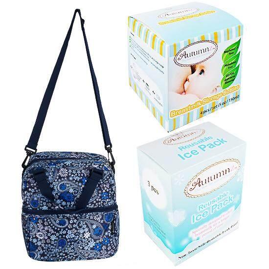Autumnz - Posh Cooler Bag Complete Set (4 btls) - ( RETRO PAISLEY )