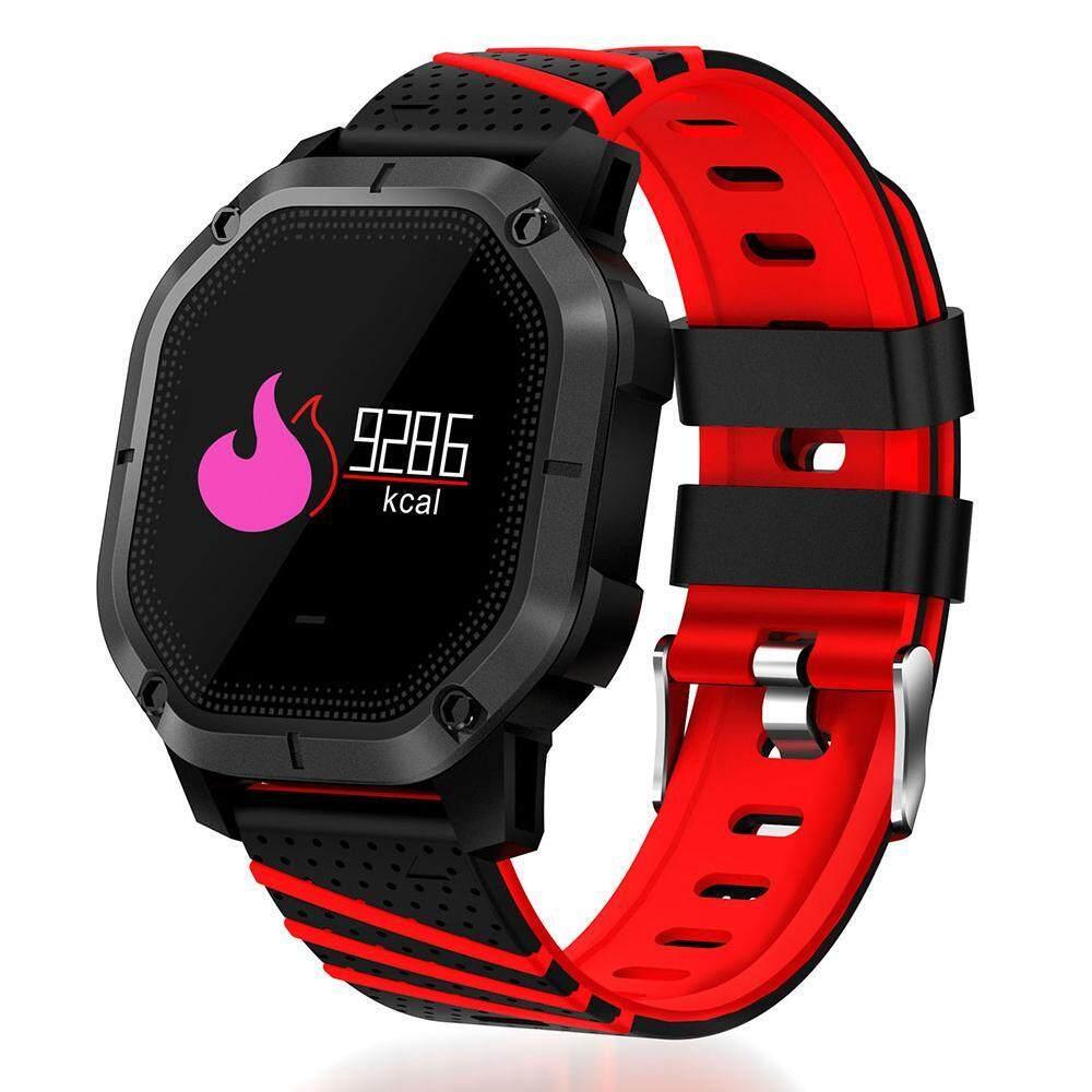 Yuero Terbaru K5 Bluetooth 4.0 1.0 Inchtft Layar IP68 GSM Tahan Air Layar Sentuh Multifungsi Sport Smart Wrist Gelang Jam untuk Huawei Xiaomi Samsung iphone 4 Warna