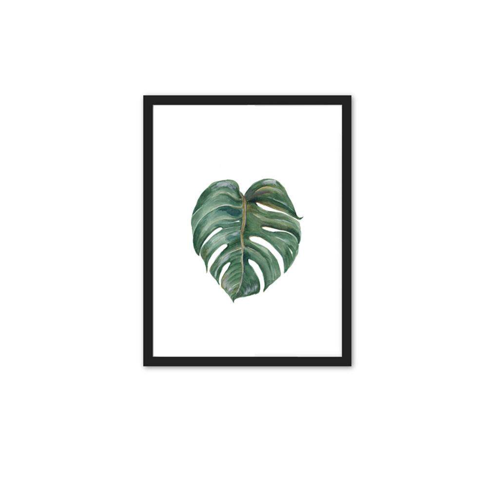 807bfe31c7fb blackhorse Simple Fashion Turtle Leaf Tropical Leaves Series Printing  Hanging Picture Core Home Decoration -1
