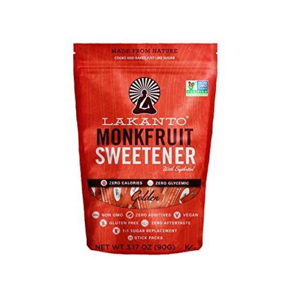 Lakanto Golden, Monkfruit Sweetener, 30 Count - intl
