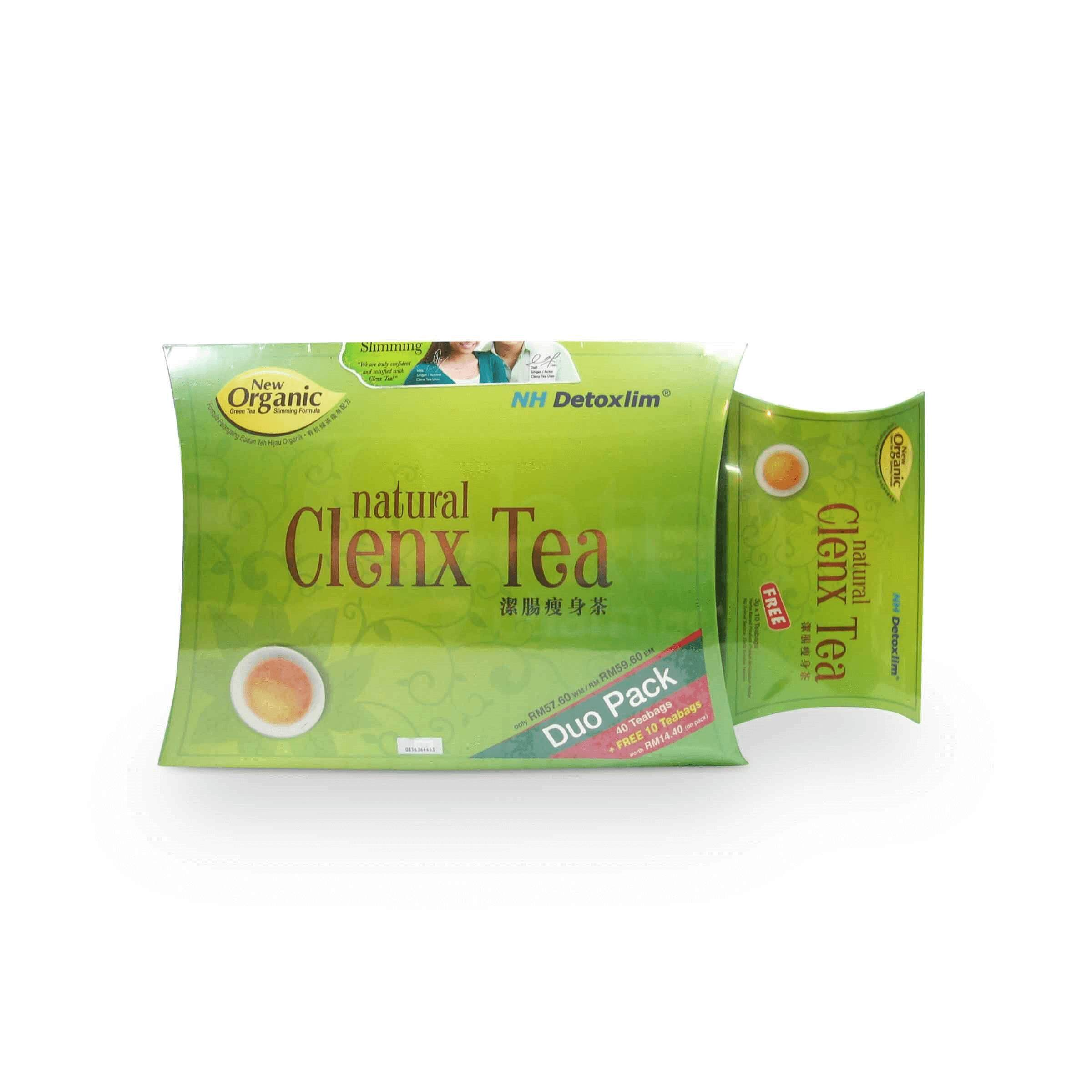 NH Natural Clenx Tea Duo Pack 3g x ( 40's + 15's ( PROMO PACK )