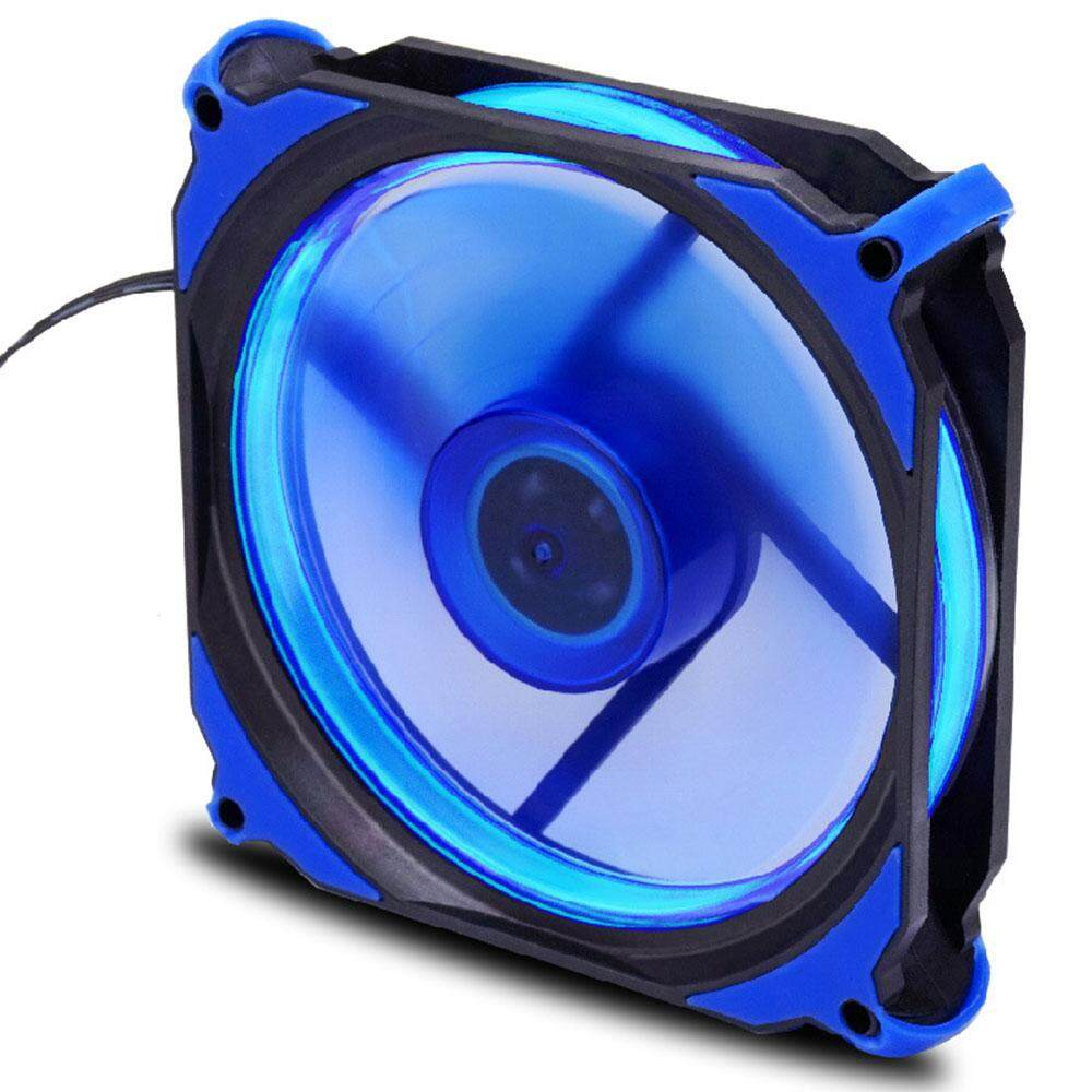 Aukey Case Fan Heatsink Cooler Fan Stand Premium 33LED ABS Desktop Computer Heat Dissipation - intl