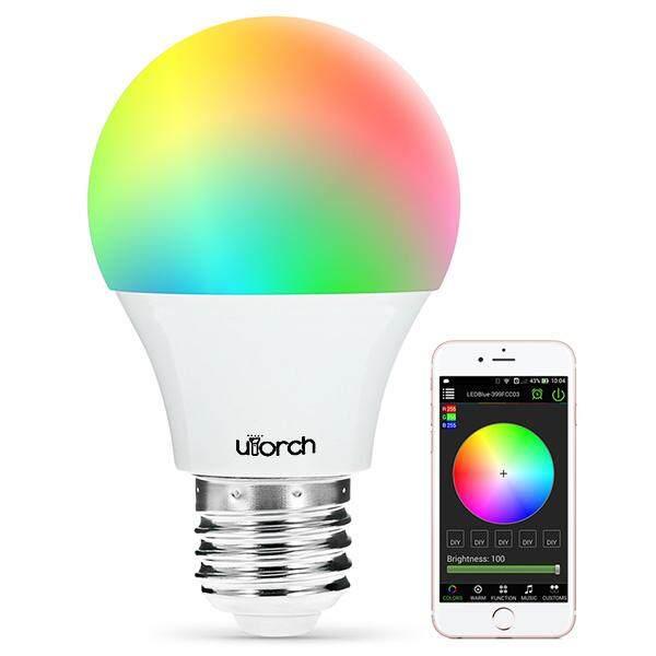 Hình ảnh Utorch Magic Xanh Dương ƯU Bluetooth 4.0 Bóng Đèn LED Thông Minh Đèn Ngủ Ứng Dụng Điều Khiển từ xa 16 Triệu Màu