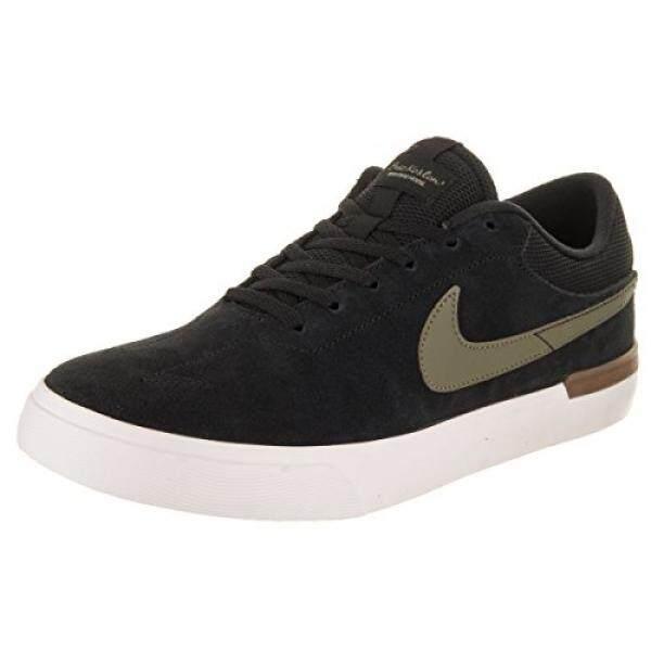 NIKE Mens SB Koston Hypervulc Black/Olive Skate Shoe en US - intl