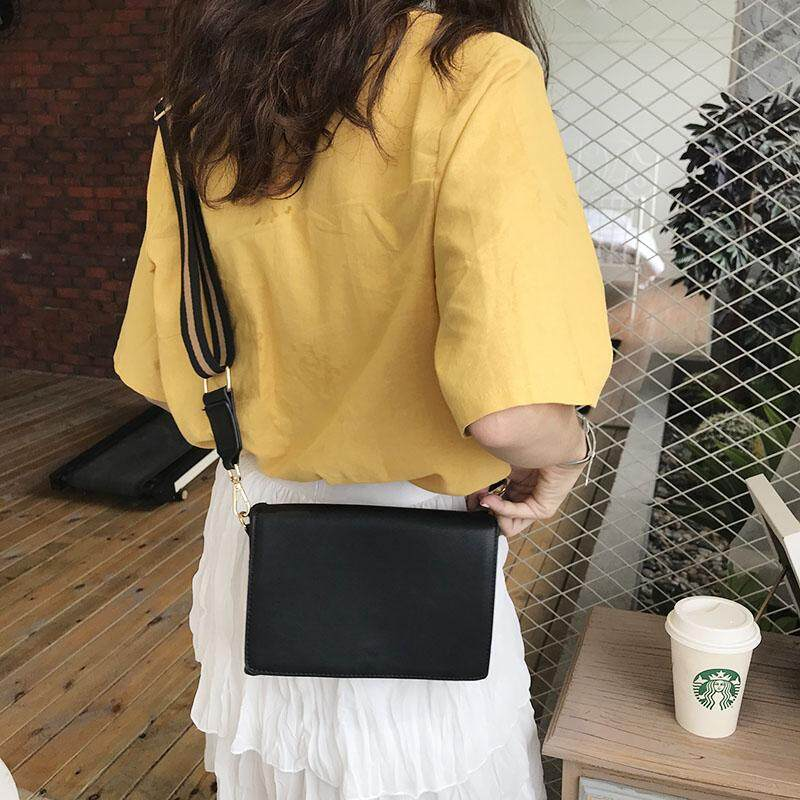 Women's Small Casual Fashion Square Bag with Magnetic Buckle