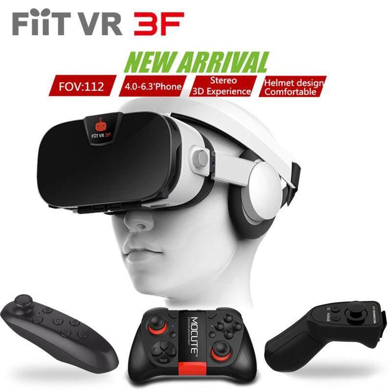 Original FIIT VR 3F headset version virtual reality glasses 3D glasses headset helmets smartphone Full package