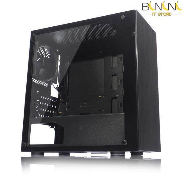 TECWARE NEXUS M TEMPERED GLASS MATX CASING ( BLACK ) Malaysia