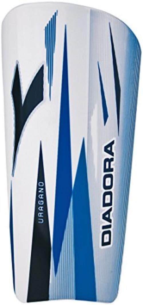 Diadora Uragano Pelindung Betis Putih/Royal Kecil-Intl