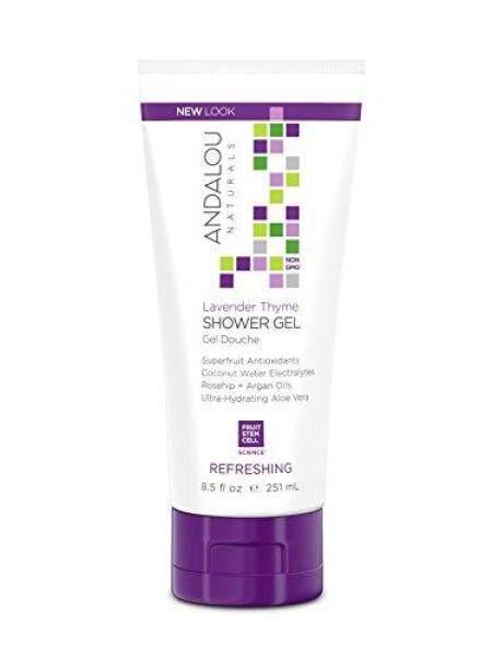 Buy (USA)Andalou Naturals Mind & Body Refreshing Shower Gel, Lavender Thyme - 8.50 Oz Singapore