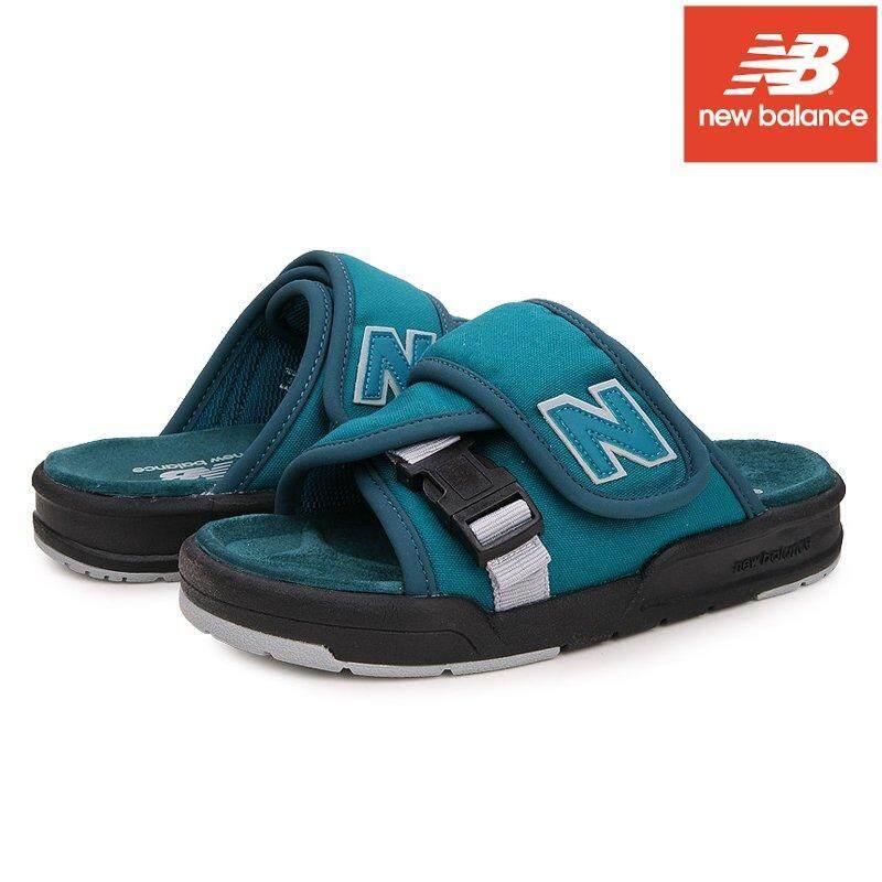 New balance Unisex Sandal SD3243GR Green US 4, 5