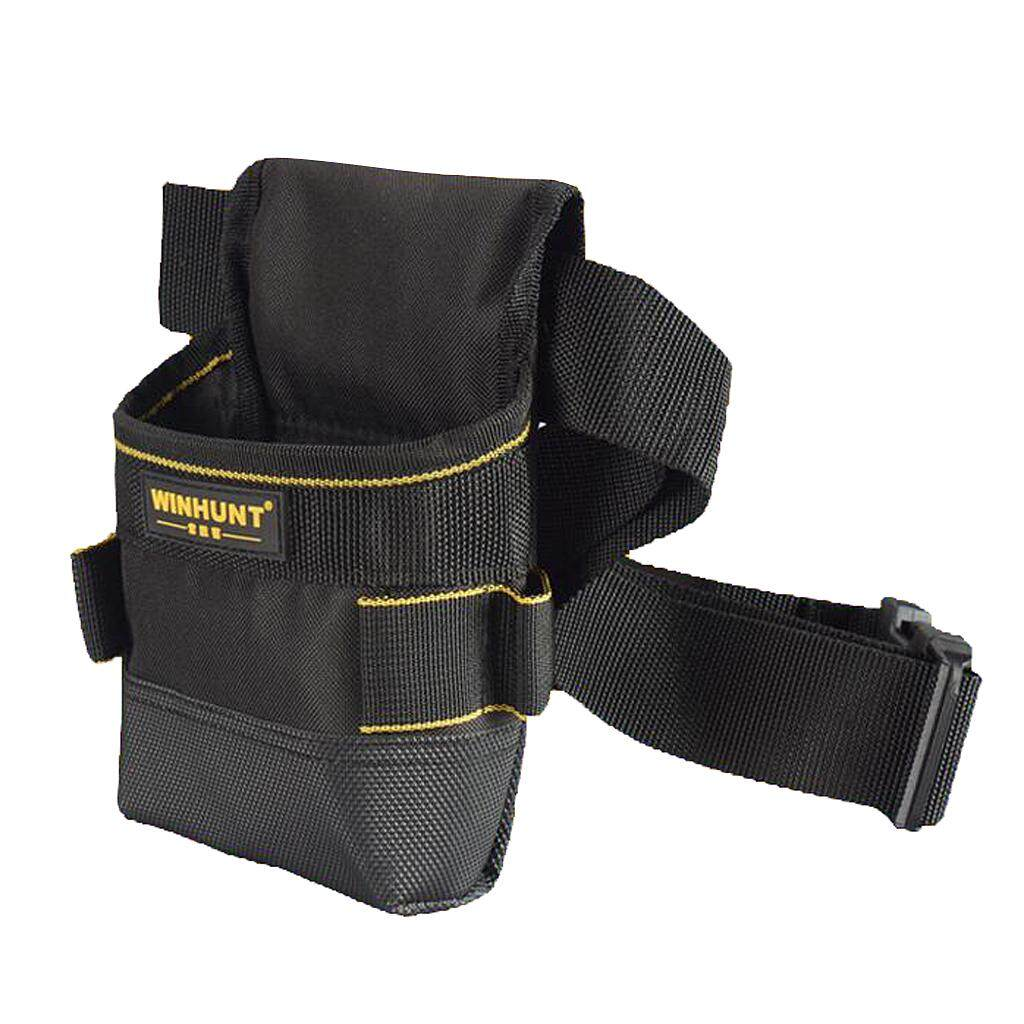 Dolity Small Oxford Pouch Bag Construction Tool Belt Electricians Tools Organizer