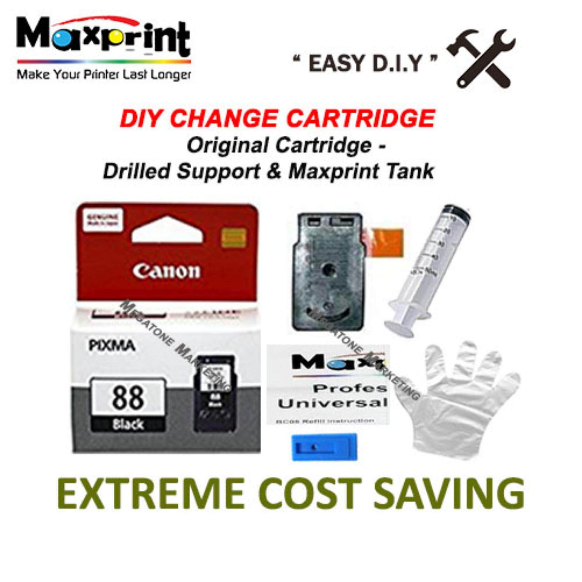 Features Maxprint Canon Pg740 88 810 89 Refill Ink 60ml Black Water Cartridge Original Pg Support Ciss Tank