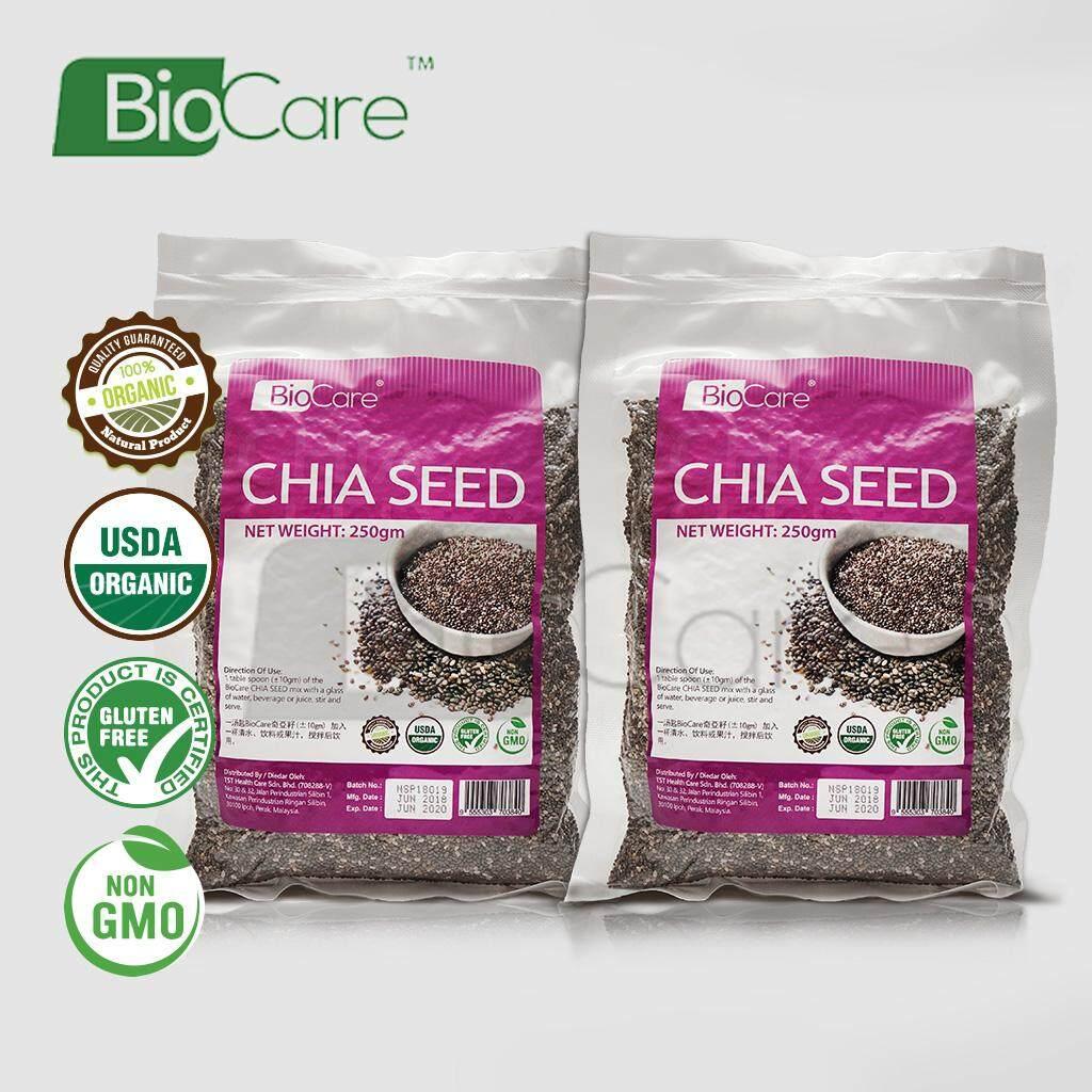 Biocare Chia Seed Organic 2 x 250gm