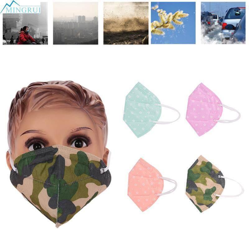 Mingrui Store Color Random Filter Cloth Riding Mask Anti-Dust Mask